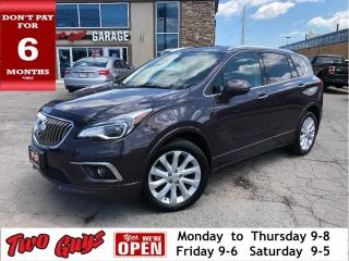 Used 2017 Buick Envision Premium I |  AWD | Nav | Panoroof | LOADED | for sale in St Catharines, ON