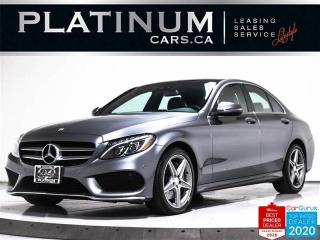 Used 2017 Mercedes-Benz C-Class C300 Sport 4MATIC, NAV, PANO, CAM, HEATED SEATS for sale in Toronto, ON