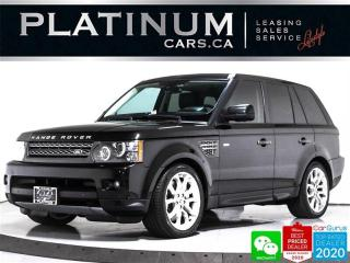 Used 2011 Land Rover Range Rover Sport SUPERCHARGED 510HP, V8, NAV, CAM, HEATED SEATS for sale in Toronto, ON
