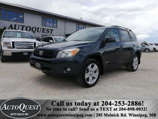 Used 2008 Toyota RAV4 4WD 4 cyl 2.4L for sale in Winnipeg, MB