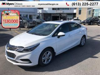 Used 2016 Chevrolet Cruze LT  LT, SUNROOF, REAR CAMERA, AUTO, HTD SEATS, BOSE! for sale in Ottawa, ON