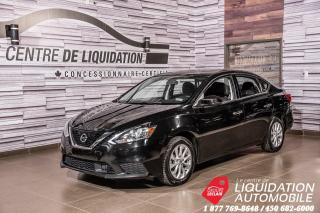 Used 2018 Nissan Sentra SV+CAM. RECUL+BLUETOOTH+PUSH START for sale in Laval, QC