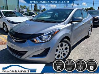 Used 2016 Hyundai Elantra GL, AUTO, BLUETOOTH, BANCS CHAUFFANTS, A for sale in Blainville, QC