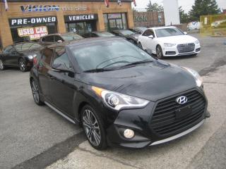 Used 2017 Hyundai Veloster 3dr Cpe DCT Turbo Leather Nav Sunroof  S. records for sale in North York, ON