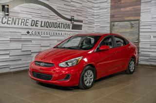 Used 2017 Hyundai Accent GL GR,ÉLECT+A/C for sale in Laval, QC