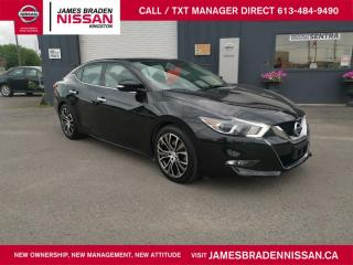 Used 2017 Nissan Maxima SV for sale in Kingston, ON