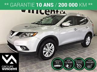 Used 2015 Nissan Rogue SV AWD ** GARANTIE 10 ANS ** Confortable et sécuritaire! for sale in Shawinigan, QC