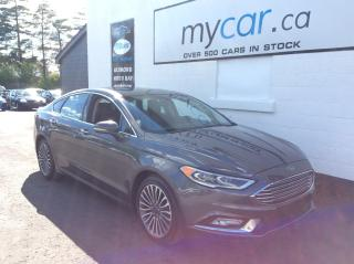 Used 2017 Ford Fusion SE LEATHER, SUNROOF, NAV, AWD!! WOW!! for sale in Richmond, ON
