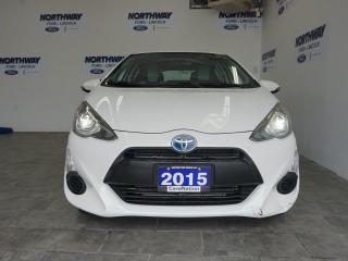 Used 2015 Toyota Prius c HATCHBACK | HYBRID | TOUCHSCREEN | ONLY 63 KM! for sale in Brantford, ON