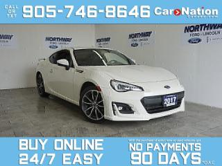 Used 2017 Subaru BRZ SPORT TECH PKG | NAV | 6 SPEED MANUAL | SPOILER for sale in Brantford, ON