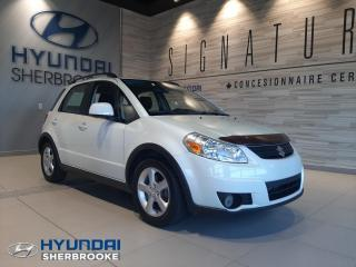 Used 2008 Suzuki SX4 AWD 8 PNEUS INCLUS AIR CLIMATISÉ CRUISE for sale in Sherbrooke, QC