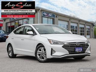 Used 2019 Hyundai Elantra Preferred ONLY 26K! **BACK-UP CAMERA** CLEAN CARPROOF for sale in Scarborough, ON