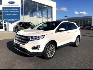 Used 2017 Ford Edge TITANIUM CUIR TOIT NAV for sale in Victoriaville, QC