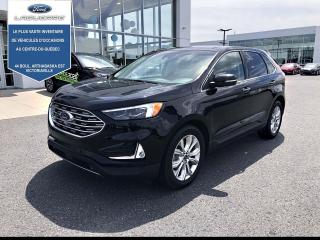 Used 2019 Ford Edge Titanium AWD CUIR TOIT NAv for sale in Victoriaville, QC