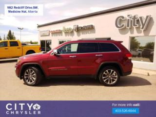 Used 2018 Jeep Grand Cherokee Limited for sale in Medicine Hat, AB