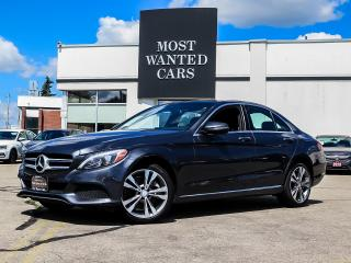 Used 2016 Mercedes-Benz C 300 4MATIC|NAV|BLIND|ROOF|SENSORS for sale in Kitchener, ON