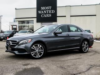 Used 2017 Mercedes-Benz C 300 4MATIC|NAV|BLIND|LANE|ROOF for sale in Kitchener, ON