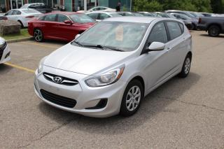 Used 2014 Hyundai Accent Accident Free, Low KM 2014 Hyundai Accent GL! for sale in Waterloo, ON