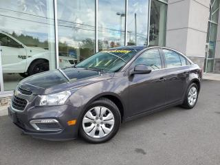 Used 2015 Chevrolet Cruze Berline 4 portes 1LT AC AUTO for sale in Ste-Agathe-des-Monts, QC