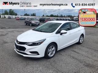 Used 2016 Chevrolet Cruze LT  - Low Mileage for sale in Orleans, ON
