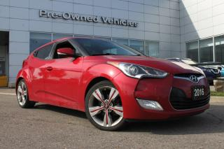 Used 2016 Hyundai Veloster ONE OWNER ACCIDENT FREE TRADE. PRICED TO SELL! for sale in Toronto, ON