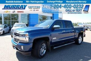 Used 2017 Chevrolet Silverado 1500 6.2 V8* 8 Speed Trans* Factory Warranty* Heated/Co for sale in Brandon, MB