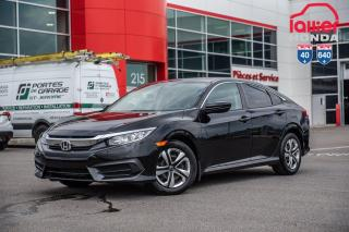 Used 2017 Honda Civic GARANTIE LALLIER MOTO-PROPULSEUR 10ANS/200,000 KIL P5084  NOIR for sale in Terrebonne, QC