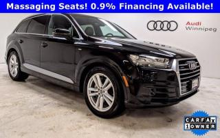 Used 2017 Audi Q7 3.0T Technik w/Luxury Package & Dynamic Ride *Local* for sale in Winnipeg, MB