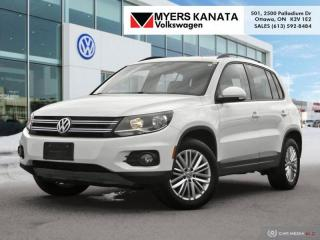Used 2016 Volkswagen Tiguan Special Edition  - Sunroof for sale in Kanata, ON