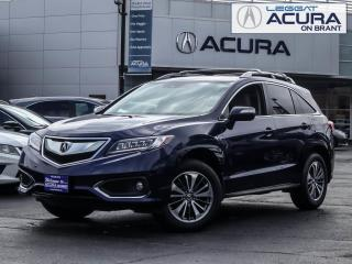 Used 2017 Acura RDX ELITE for sale in Burlington, ON