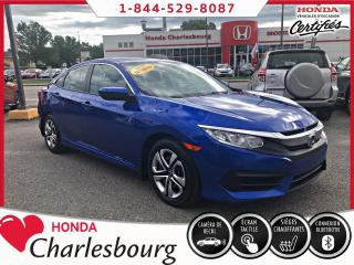 Used 2018 Honda Civic LX AUTOMATIQUE **38 865 KM** for sale in Charlesbourg, QC