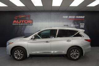 Used 2015 Infiniti QX60 AWD 7 PASSAGERS CUIR TOIT OUVRANT CAMERA 73 069 KM for sale in Lévis, QC