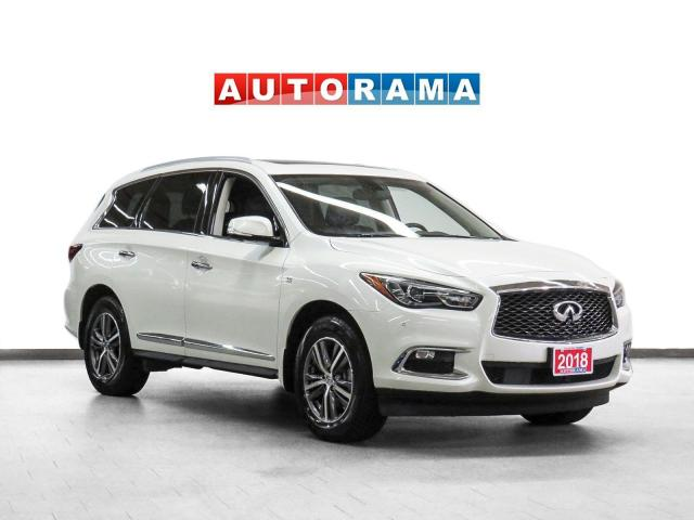 2018 Infiniti QX60 AWD Navigation Leather Sunroof 360 Camera