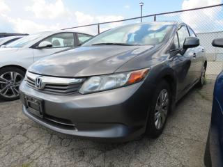 Used 2012 Honda Civic LX for sale in St. Thomas, ON