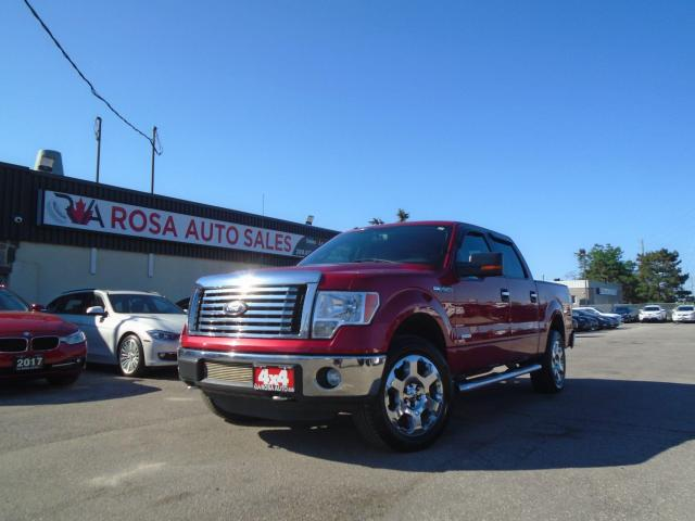 "2012 Ford F-150 4WD SuperCrew 145"" XLT 3.5ecoboost safety new chai"