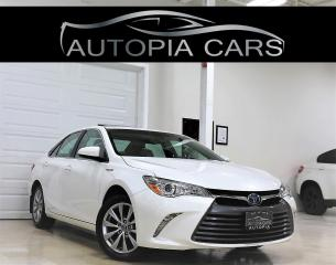 Used 2017 Toyota Camry HYBRID XLE HYBRID BLIND SPOT NAVI REAR VIEW CAM SUNROOF for sale in North York, ON