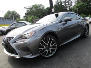 Used 2017 Lexus RC 300 RC AWD|F SPORT PKG|NAVIGATION|COOLED SEATS !! for sale in Burlington, ON