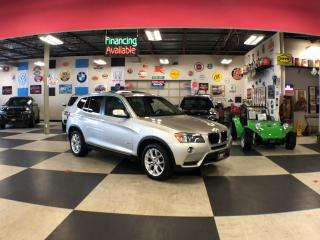 Used 2013 BMW X3 2.8I XDRIVE PREMIUM PKG AWD LEATHER PANO/ROOF 111K for sale in North York, ON