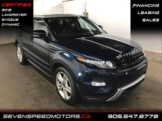 Used 2012 Land Rover Evoque DYNAMIC | NAVI | CERTIFIED | FINANCE @4.65% for sale in Oakville, ON
