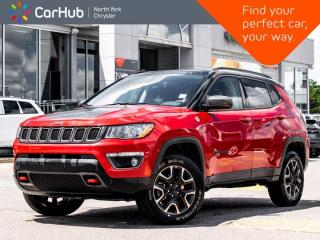 Used 2019 Jeep Compass Trailhawk 4x4 Panoramic Sunroof Navigation Backup Camera Heated Seats for sale in Thornhill, ON