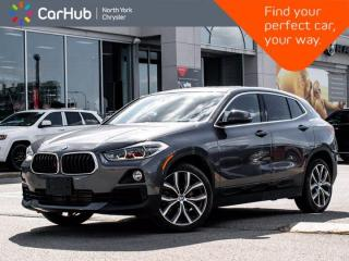 Used 2019 BMW X2 xDrive28i Panoramic Sunroof Navigation Lane and Pedestrian Warning Memory Heated Seats for sale in Thornhill, ON