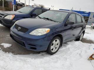 Used 2003 Toyota Matrix 2003 TOYOTA MATRIX** FINANCEMENT 100% AP for sale in Lemoyne, QC