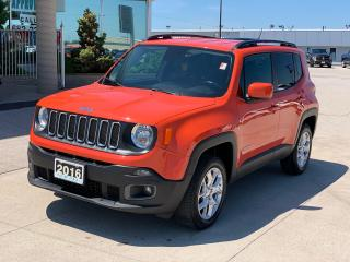 Used 2016 Jeep Renegade North for sale in Tilbury, ON