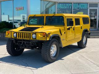 Used 2000 AM General Hummer H1 WAGON 6.5 DIESEL for sale in Tilbury, ON