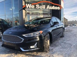 Used 2019 Ford Fusion Hybrid Titanium 4dr FWD Sedan for sale in Winnipeg, MB