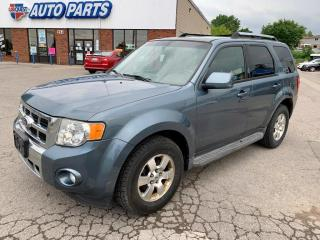 Used 2011 Ford Escape LIMITED | 4WD | LEATHER | SUNROOF | REVERSE SENSORS | for sale in Barrie, ON