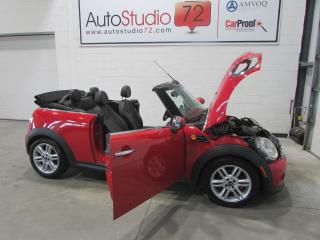 Used 2014 MINI Cooper CONVERTIBLE CONVERTIBLE**CUIR**AUTOMATIQUE for sale in Mirabel, QC