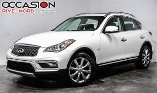 Used 2016 Infiniti QX50 TOIT.OUVRANT+CUIR+CAM.RECUL for sale in Boisbriand, QC