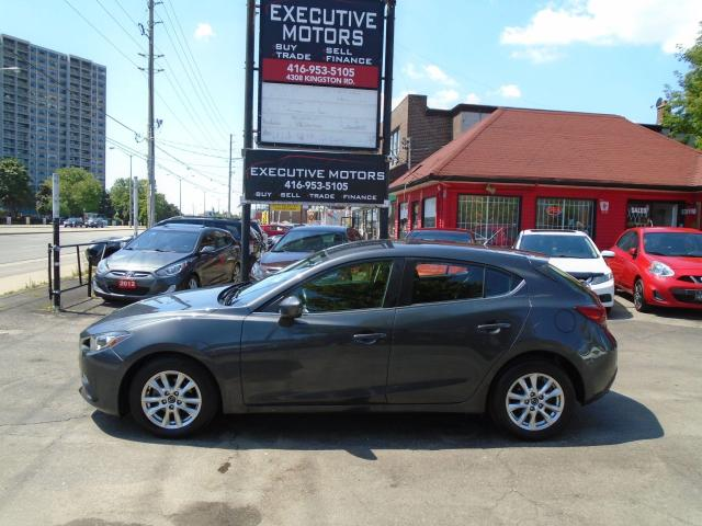 2015 Mazda MAZDA3 GS/ SPORT / NAV/ REAR CAM / PUSH START / MINT / AC