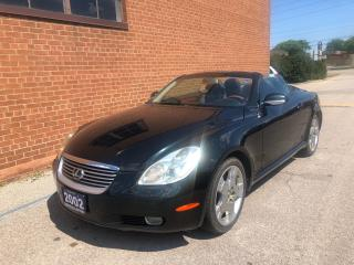 Used 2002 Lexus SC 430 CONVERTIBLE /CERTIFIED for sale in Oakville, ON